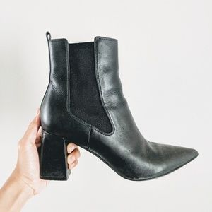 Marc Fisher Zanna Chelsea Heeled Ankle Boots
